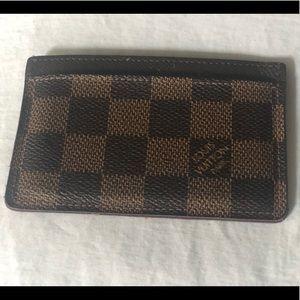 Louis Vuitton Accessories - Louis Vuitton Card Wallet